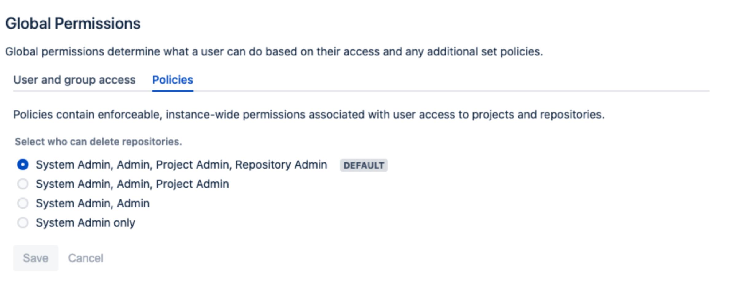 Bitbucket Delete Repositories
