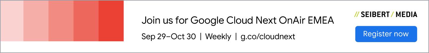 Google Cloud Next OnAir Banner 2020
