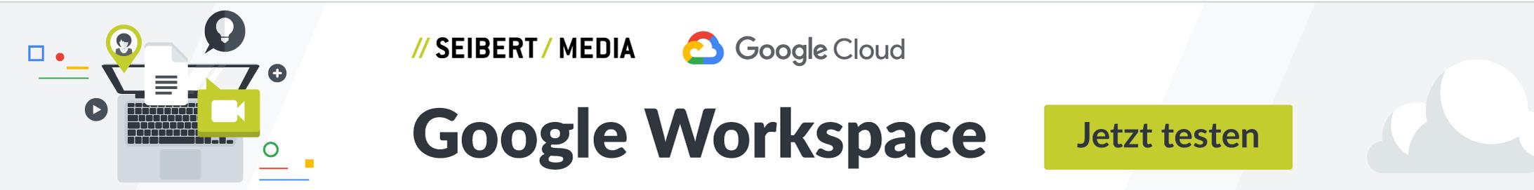 Google Workspace jetzt testen
