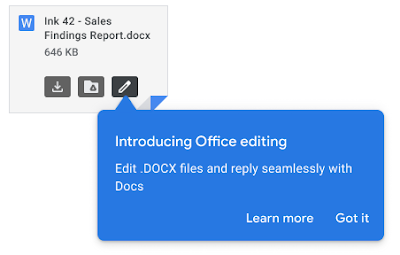 Microsoft-Dokumente mit Gmail im E-Mail-Anhang öffnen