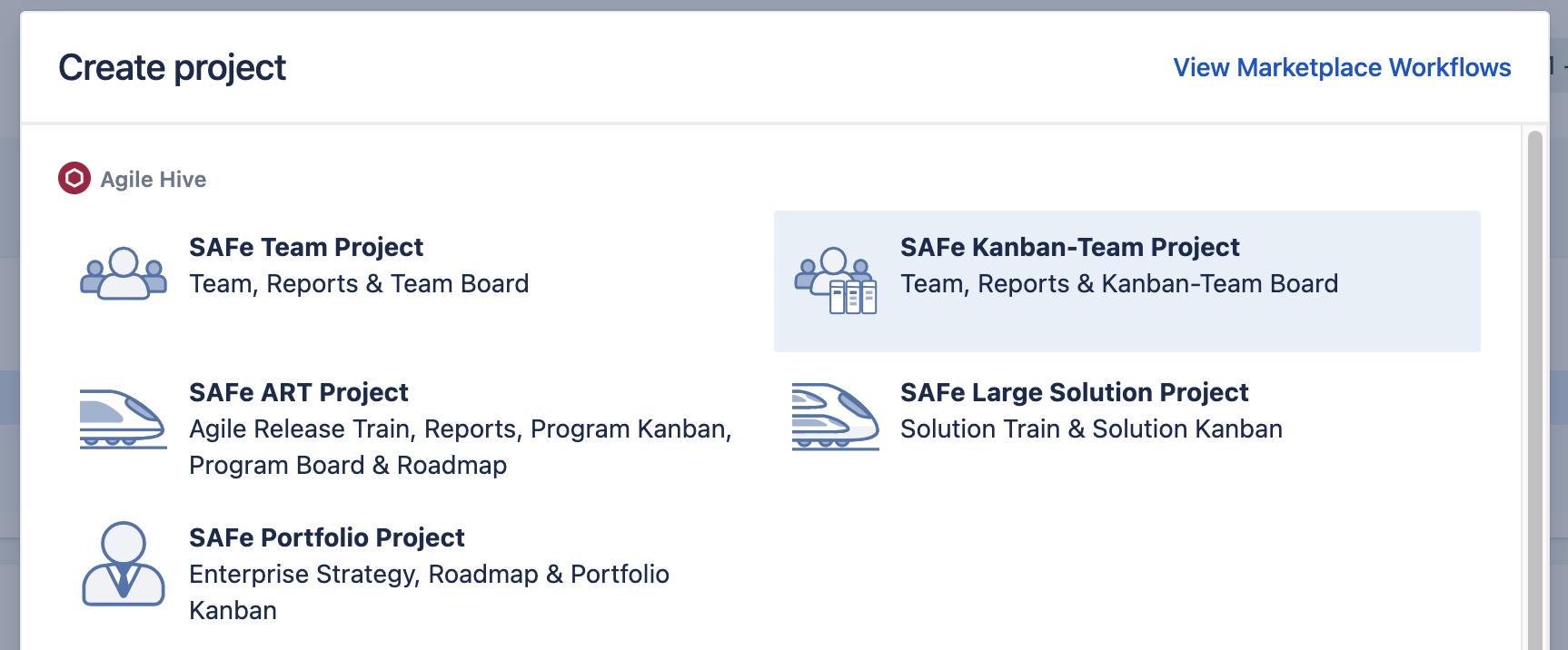 Agile Hive Kanban-Teams