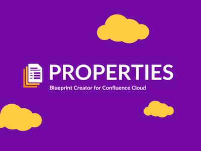 Blueprint Creator Properties Confluence Cloud Artikelbild