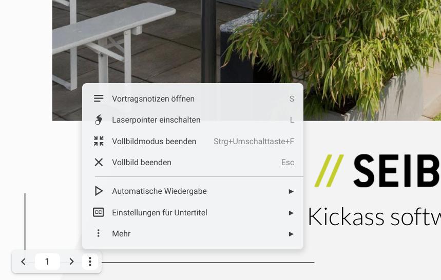 Toolbar in Google Slides