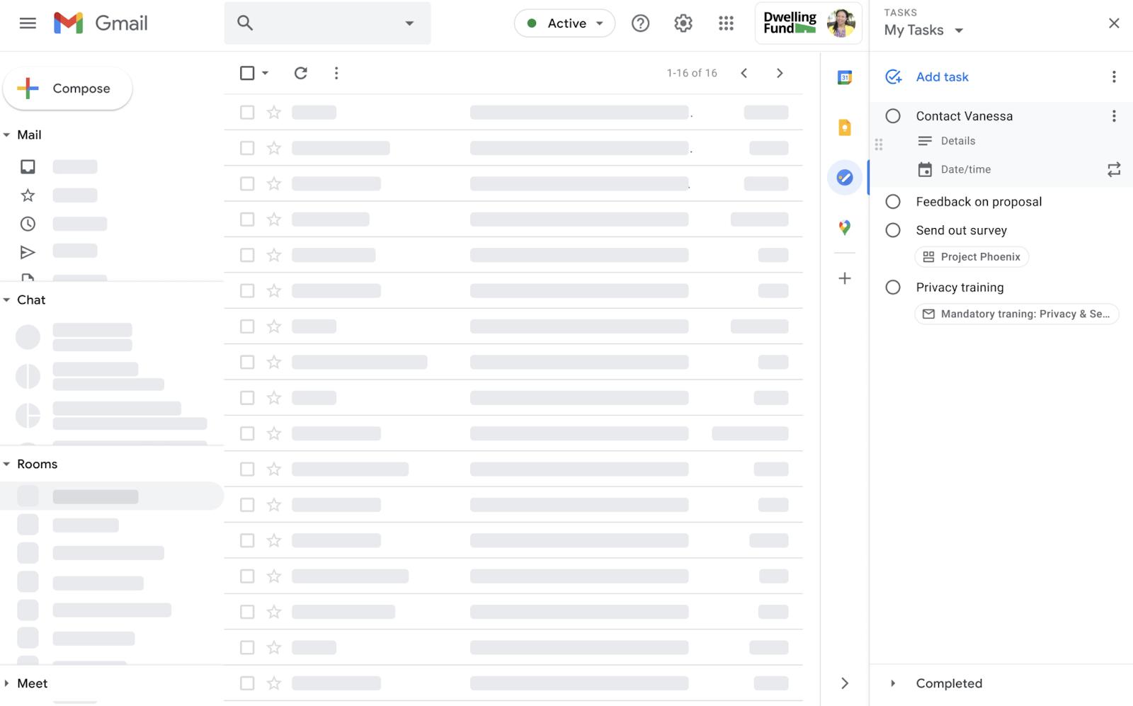 Information in Google Tasks hinzufügen