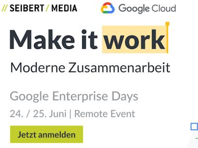 Google Enterprise Days
